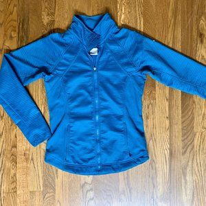 Nike Women's Fit Therma Turquoise Jacket 8